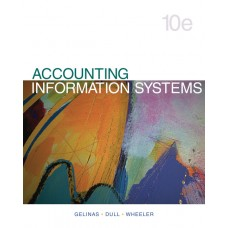 Test Bank for Accounting Information Systems, 10th Edition Ulric J. Gelinas