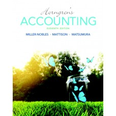 Test Bank for Horngren's Accounting, 11th Edition Tracie L. Miller-Nobles
