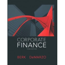 Test Bank for Corporate Finance, 3E Jonathan Berk