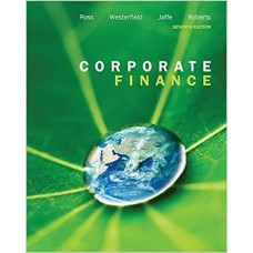 Test Bank for Corporate Finance, 7th Canadian Edition Stephen A. Ross