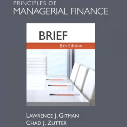 principles of managerial finance 11th edition gitman chapter 7 Test bank for principles of managerial finance 13th edition  test bank for principles of managerial finance 13th  7: short-term financial decisions chapter.