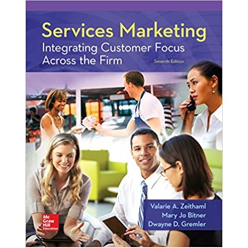 Integrating Customer Focus Across the Firm Services Marketing