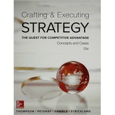 Test Bank Crafting and Executing Strategy, 20e Arthur A. Thompson, Jr