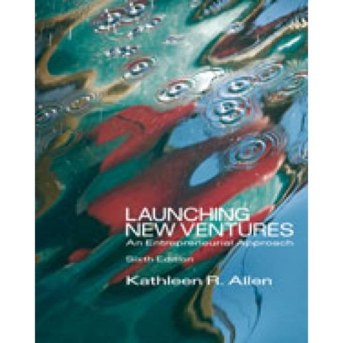 Amazon. Com: launching new ventures: an entrepreneurial approach.